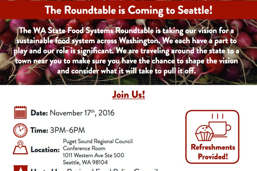 Wa State Food Systems Roundtable