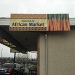 Saran African Market - Sign