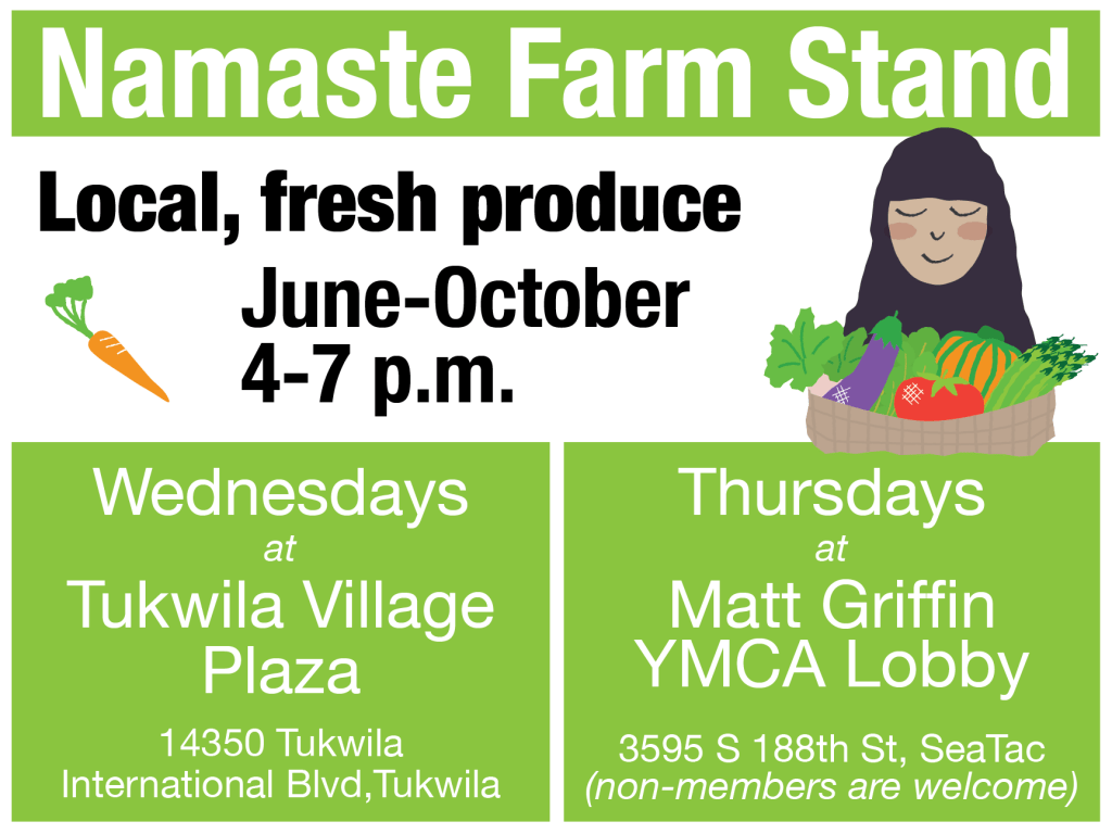 Namaste Farm Stand - local, fresh produce June through October