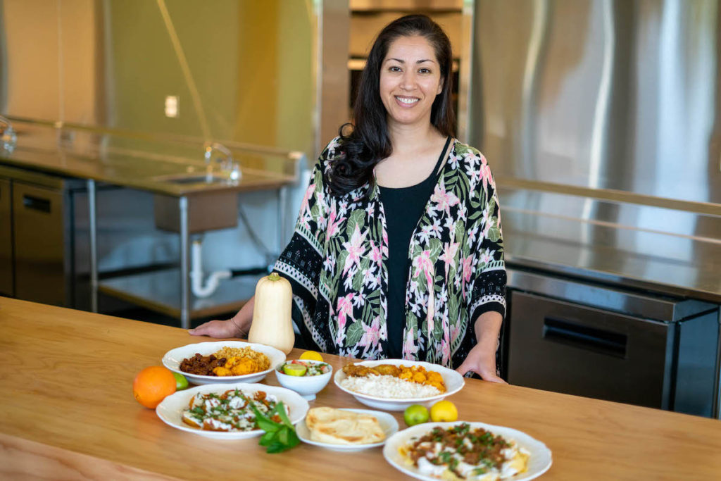 Jazze's owner Nasrin Noori showcases a variety of Afghan dishes